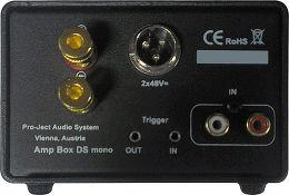 Pro-Ject Amp Box Mono DS Vue arrière