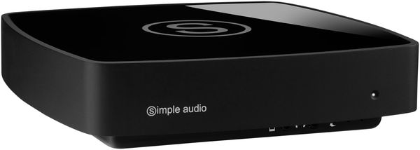 Simple Audio Roomplayer I Vue principale