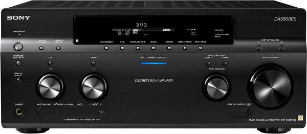 Sony STR-DA5800ES Vue principale