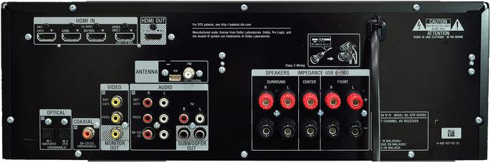 sony str dh550 amplis home cin ma son vid. Black Bedroom Furniture Sets. Home Design Ideas