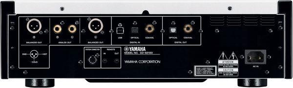 Yamaha CD-S2100 face arrière