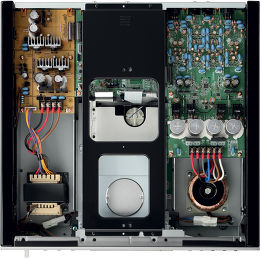 Yamaha CD-S2100 vue intérieure