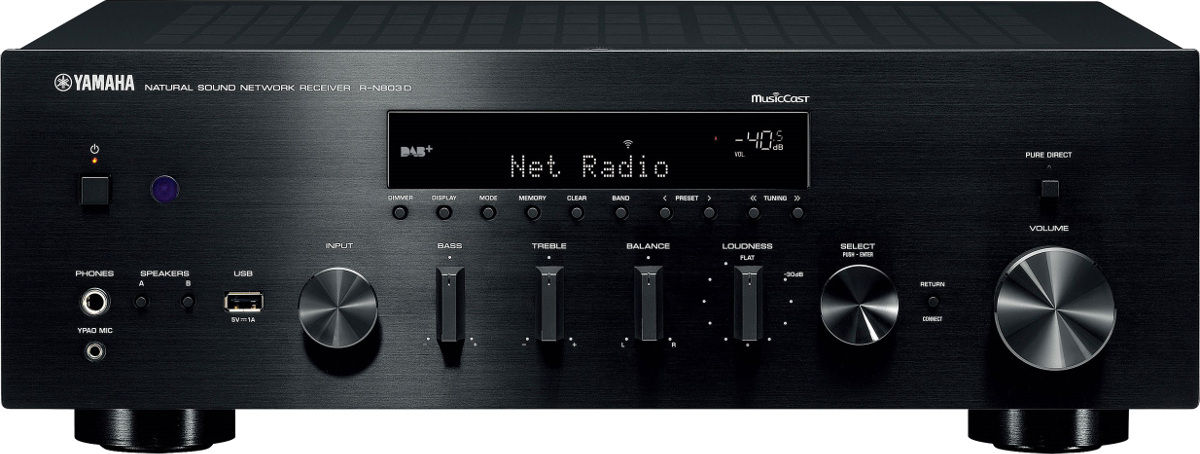 Yamaha musiccast r n803d amplis connect s son vid for Yamaha musiccast spotify