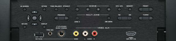 Yamaha RX-A1040 face avant