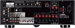Yamaha MusicCast RX-A850 Vue arrière