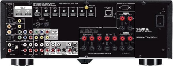 Yamaha Aventage RX-A860 : connectique