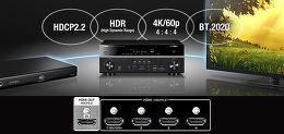 Yamaha MusicCast RX-V481 Vue technologie 2