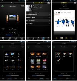 Yamaha RX-V575 Application