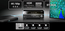 Yamaha MusicCast RX-V583 Vue technologie 4