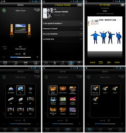 Yamaha RX-V675 Application
