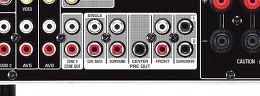 Yamaha MusicCast RX-V781 Vue de détail 4