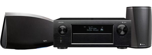 Denon AVR-X6300H + Denon Heos 7 + Denon Heos 1 Vue principale