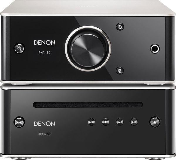 Denon PMA-50 + DCD-50 Vue principale