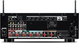 Denon AVR-X2200W Vue arrière