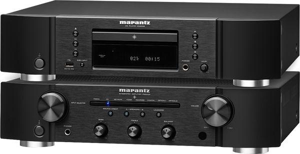 Marantz PM-6006 + CD-6006 Vue principale
