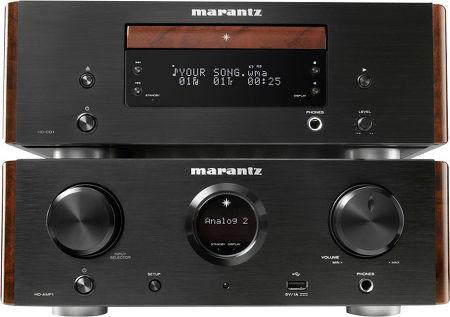 HD-AMP1 + HD-CD1 Noir