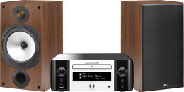 Marantz 611 / Monitor Audio MR2 Vue principale