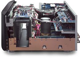 Marantz MM8077/AV8801 Vue intérieure