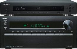 Onkyo TX-NR1010 Noir / Oppo BDP-103