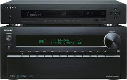 Onkyo TX-NR3010 Noir / Oppo BDP-103 Vue principale
