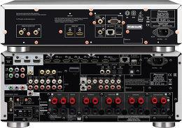 Pioneer SC-LX58 + Pioneer BDP-LX58 Vue arrière