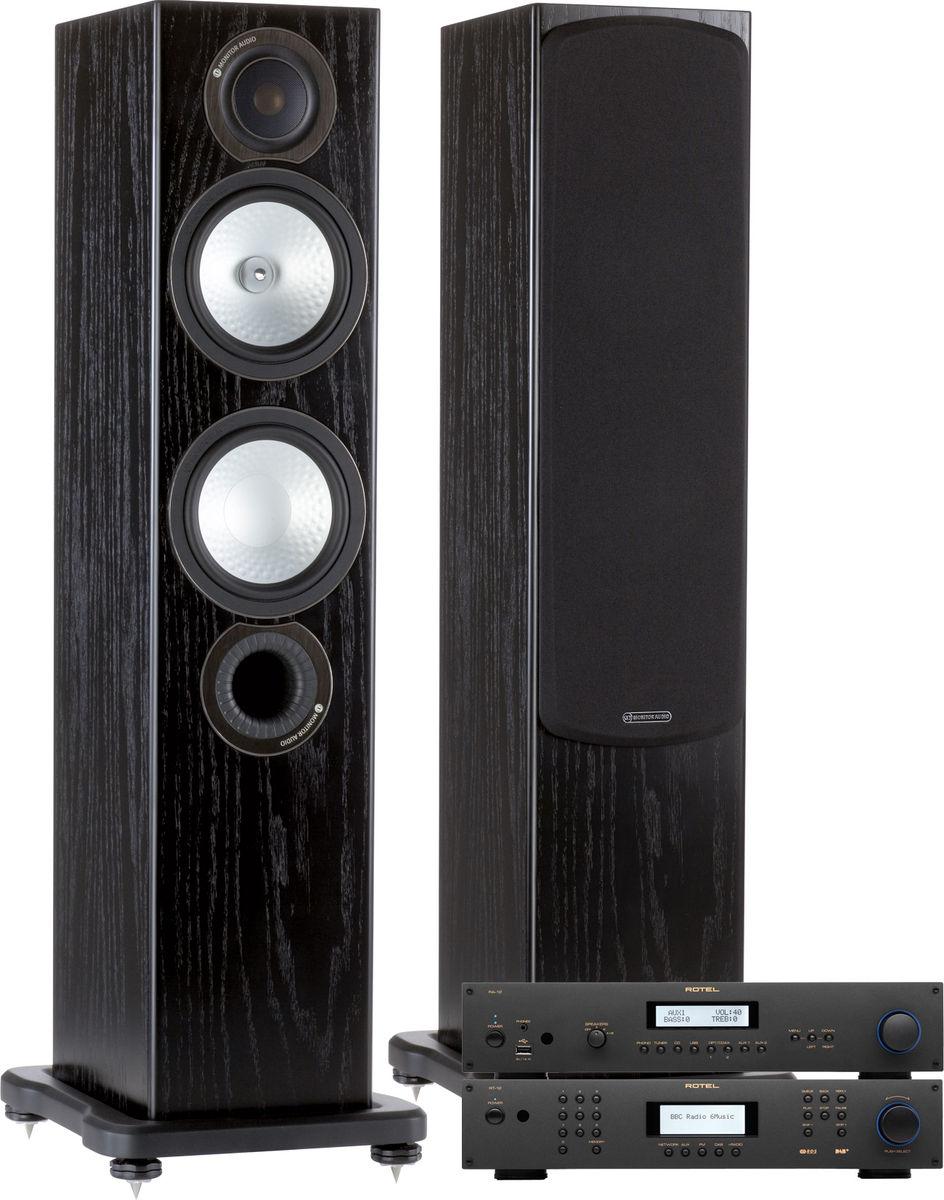 rotel 12 monitor audio rx6 cha nes son vid. Black Bedroom Furniture Sets. Home Design Ideas