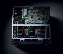 Yamaha RX-A2040 Vue intérieure