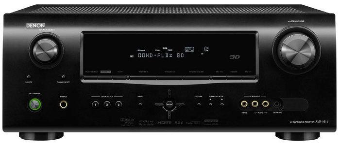 amplificateur home cin ma denon avr 1611 vds 34 audio. Black Bedroom Furniture Sets. Home Design Ideas