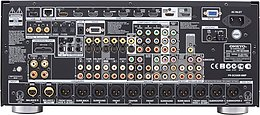 Onkyo PR-SC5509  Vue arrière