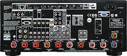 Onkyo TX-NR3010 Vue arrière