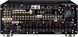 Pioneer SC-LX85 Vue arrière