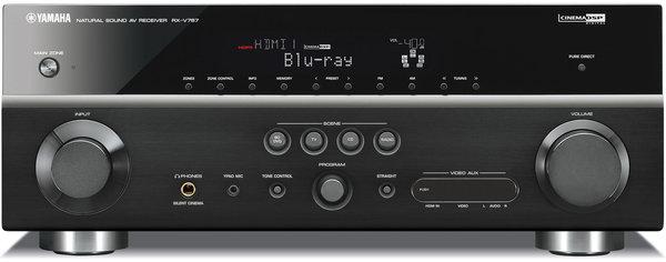 Yamaha rx v767 amplis home cin ma son vid for Yamaha rx v767