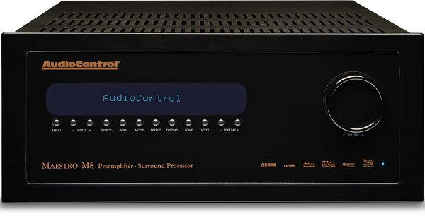 Audiocontrol Maestro M8 Vue principale