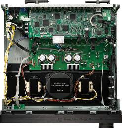 Onkyo PR-SC5530 Vue intérieure
