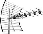 Antenne râteau