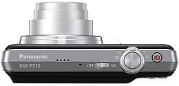 Panasonic DMC-FS30 Vue Dessus