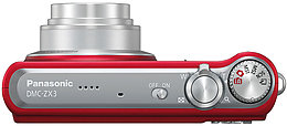 Panasonic DMC-ZX3EF Vue Dessus