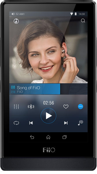 FiiO X7 (sans carte d'amplification) Vue principale