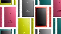 Sony NW-A35 Vue toutes les couleurs
