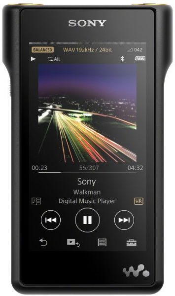 Sony NW-WM1A Vue principale