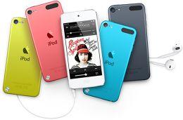 Apple iPod touch 5G Vue toutes les couleurs