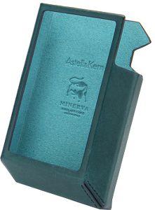 étui en cuir naturel Carlo Badalassi pour baladeur Astell&Kern AK240