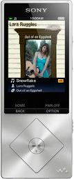 Sony NWZ-A15 Vue principale