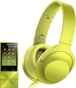 Sony NW-A25 + MDR-100AAP Jaune
