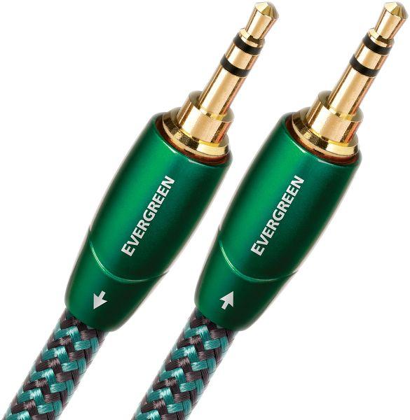 Audioquest Evergreen mini-jack mâle-mâle Vue principale