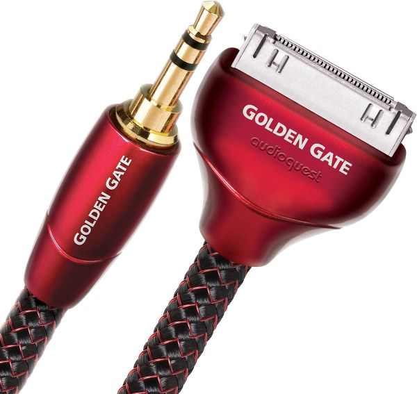 Audioquest Golden Gate iPod/iPhone vers mini-Jack Vue principale