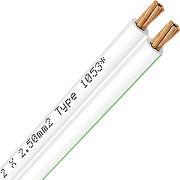 Oehlbach Speaker Wire 2 x 4 mm (5 m) blanc