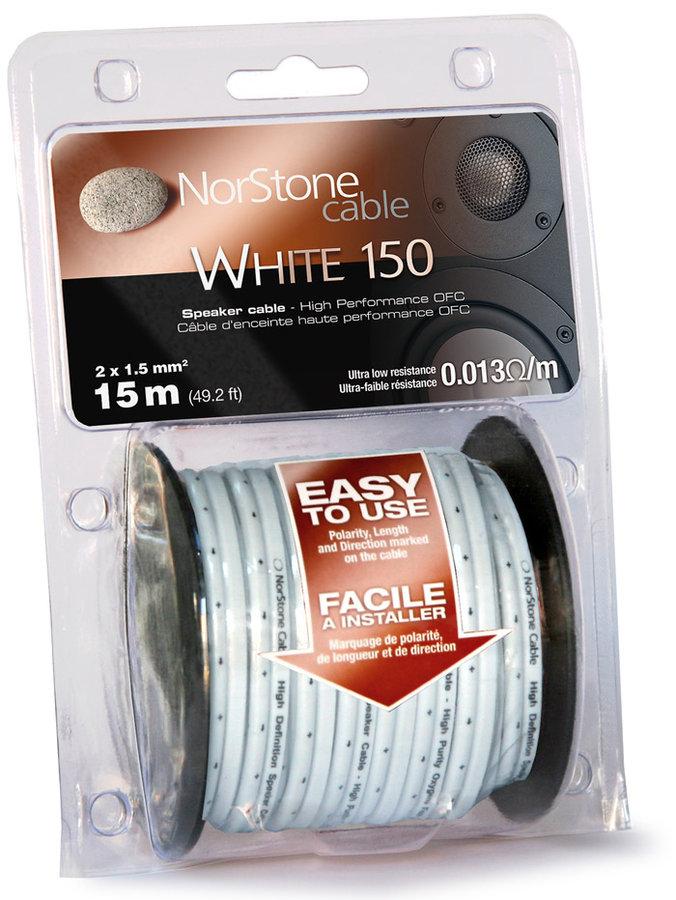 NorStone Bobine W150 White (15 m)