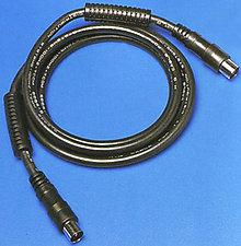 SVD Pro Férrité 9,5 mm mâle/femelle noir (5 m)