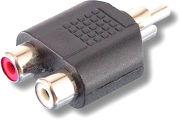 SVD Pro RCA m�le / 2 RCA femelle